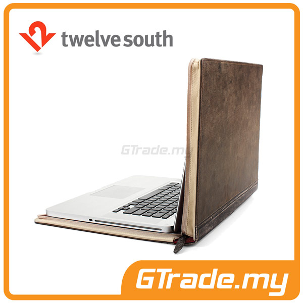TWELVE SOUTH BookBook Leather Case | Apple MacBook PRO 15' - Brown