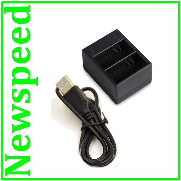 Twin Battery USB Charger for GoPro Hero3 Hero 3 Action Camera