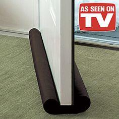 Twin Draft Door Guard Blocking Dust & Door Clean Strip