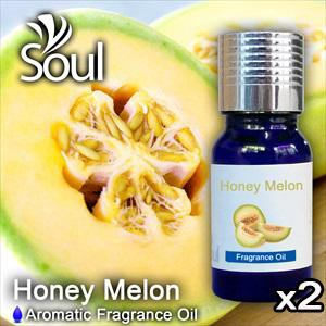 Twin Pack Fragrance Cold Melon - 10ml
