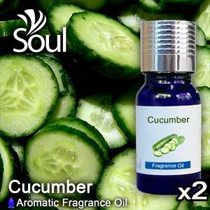 Twin Pack Fragrance Cucumber - 10ml