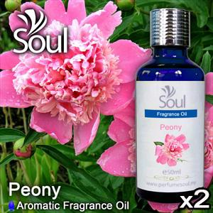 Twin Pack Fragrance Peony - 50ml
