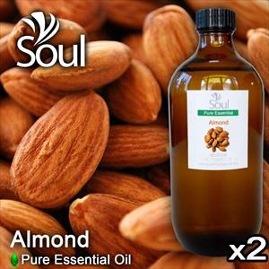 Twin Pack Pure Essential Oil Almond - 500ml