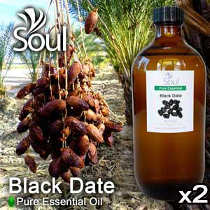 Twin Pack Pure Essential Oil Date - Black Date - 500ml