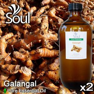 Twin Pack Pure Essential Oil Galangal - 500ml