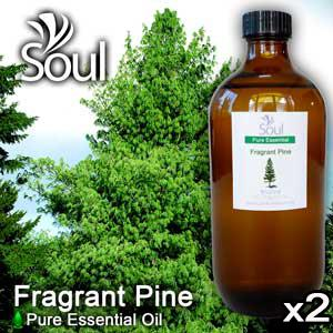 Twin Pack Pure Essential Oil Pine - Fragrant Pine - 500ml