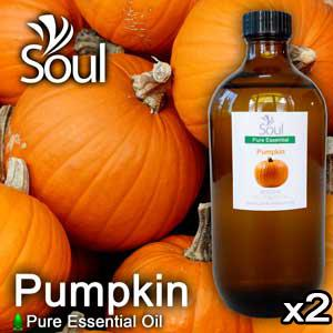 Twin Pack Pure Essential Oil Pumpkin - 500ml