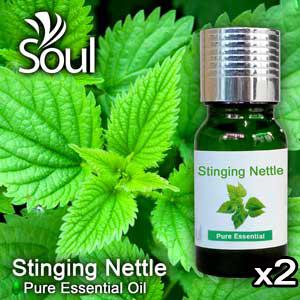 Twin Pack Pure Essential Oil Stinging Nettle - 10ml