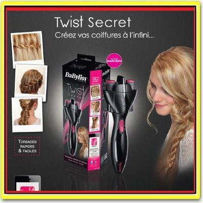 Twist Secret Automatic Hair Twister - Quick And Easy Braids Hair Style