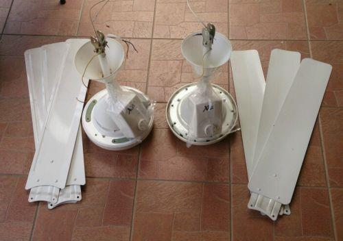 Two (2) used ceiling fans working condition for sales