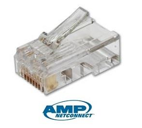 Tyco AMP Networking RJ45 Crystal Modular Connector x10pcs