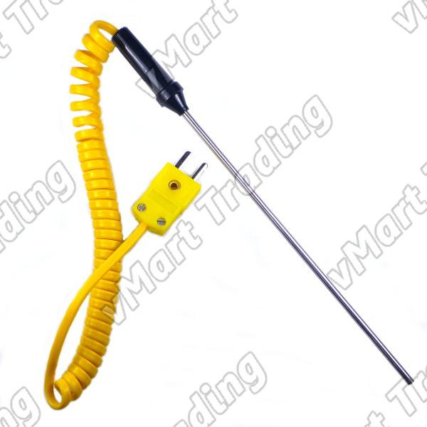 Type- K Thermocouple with 140mm Stainless Steel Probe