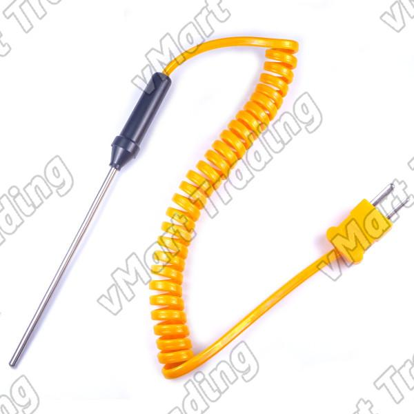 Type- K Thermocouple with 90mm Stainless Steel Probe