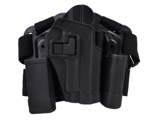 NEW TYPE P226 DROPLEG HOLSTER W/PLATFORM BK