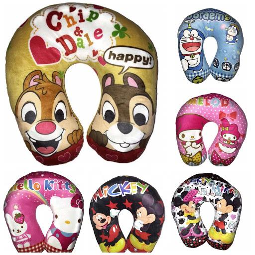 U Shape Neck Pillow Cartoon Design For Travel