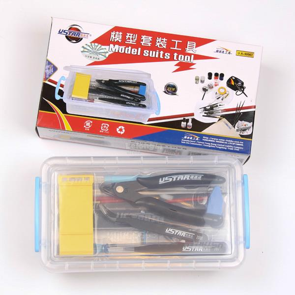 U-Star UA90067 Gundam Plastic Model Basic Tools Set