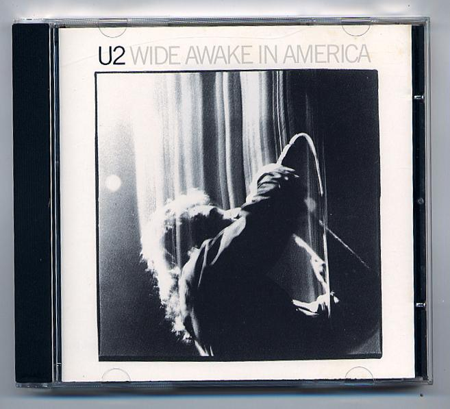 U2 'Wide Awake In America' CD