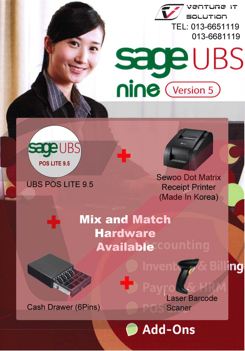 Ubs System Solution Ubs Pos System Promotion New