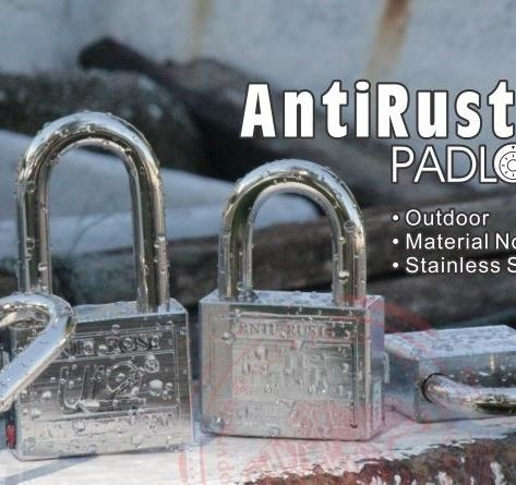 UfO brand Anti Rust series padlock with AFIMT system