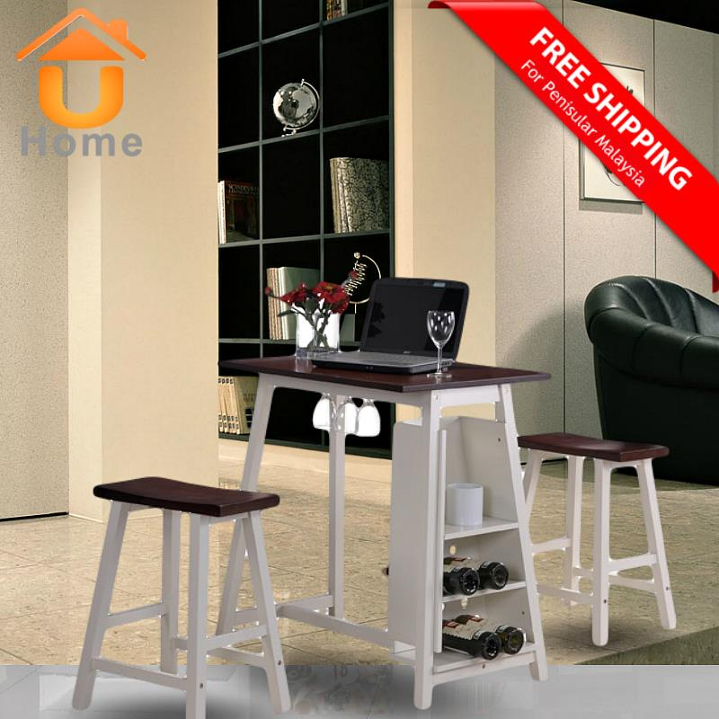 UHome Mini Bar Pub Table Set With W end 10 22 2016 9 15 PM