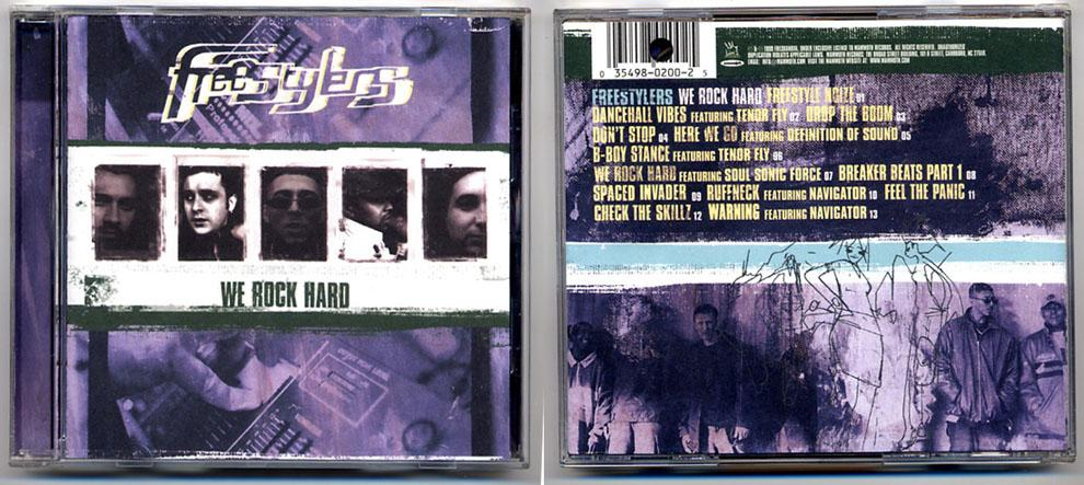 UK Hip Hop Freestylers 'We Rock Hard' CD