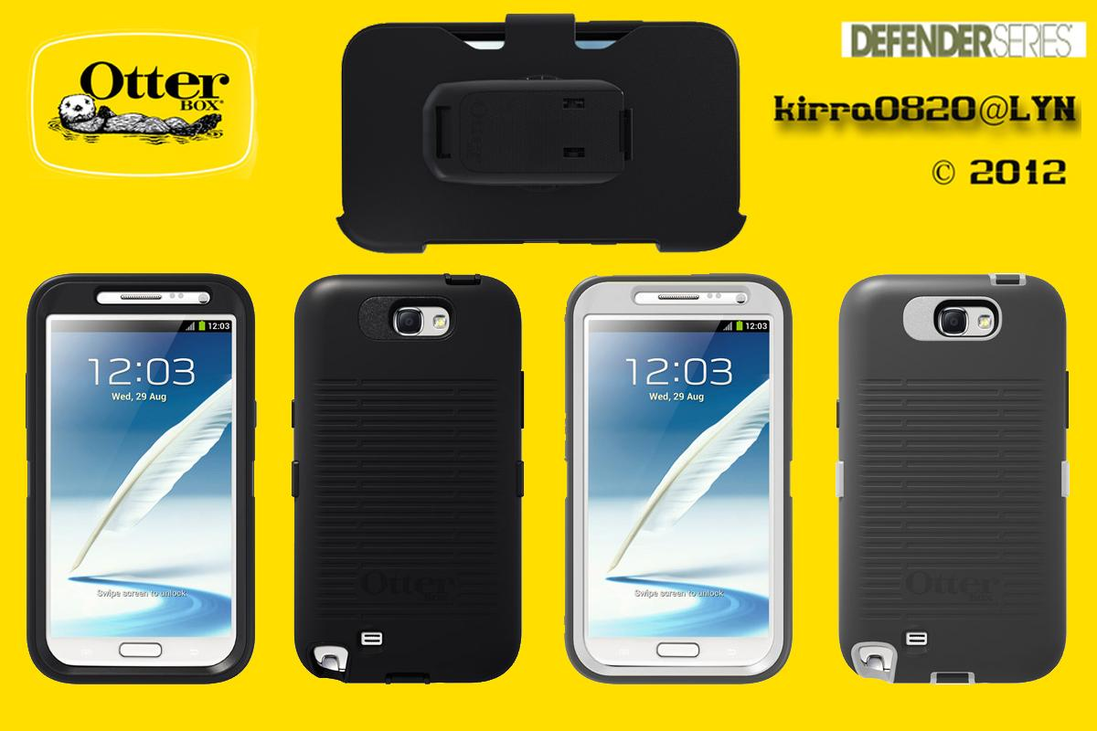 Ultimate Protection!! Otterbox Defender Samsung Galaxy Note2 Black