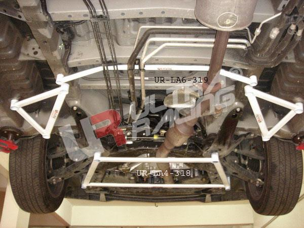 ULTRA RACING 8-Point Front Lower Bar: Toyota Alphard [UR-LA8-319]