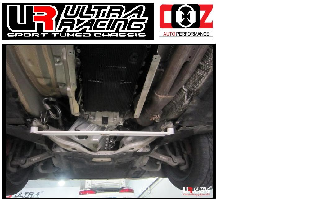 ULTRA RACING REAR  LOWER BAR  BMW E63 (640) 4.0 2003