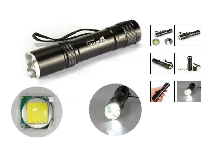 UltraFire 12W CREE XM-L T6 2000Lm LED Zoomable.