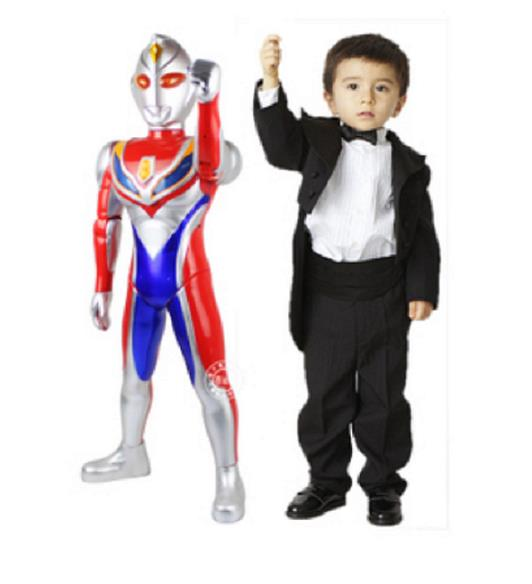 ULTRAMAN Figure toys cw Sound & Light. 72cm. New.!!