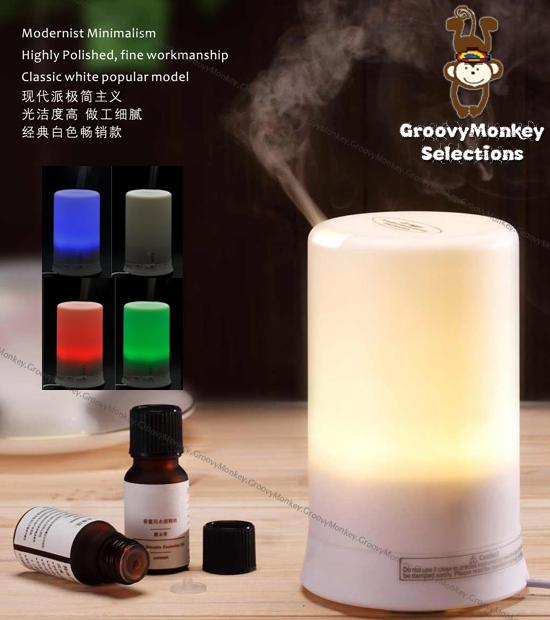 ULTRASONIC HUMIDIFIER AROMA DIFFUSER AIR PURIFIER MOSQUITO REPELLENT