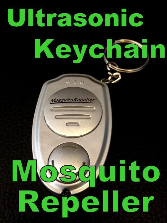 Ultrasonic Key chain  Mosquito Repeller Killer Repellant Keychain
