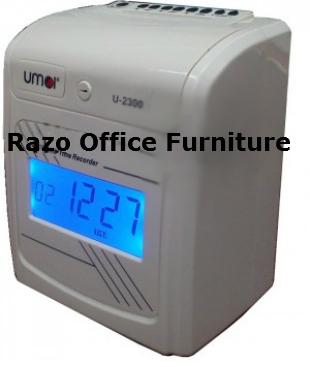 UMEI 2300N Electronic Time Recorder / Punch Card Machine