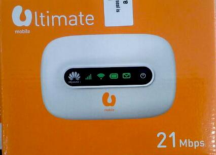 UMobile U Mobile 21Mbps 3G WiFi MiFi Router Wireless Modem