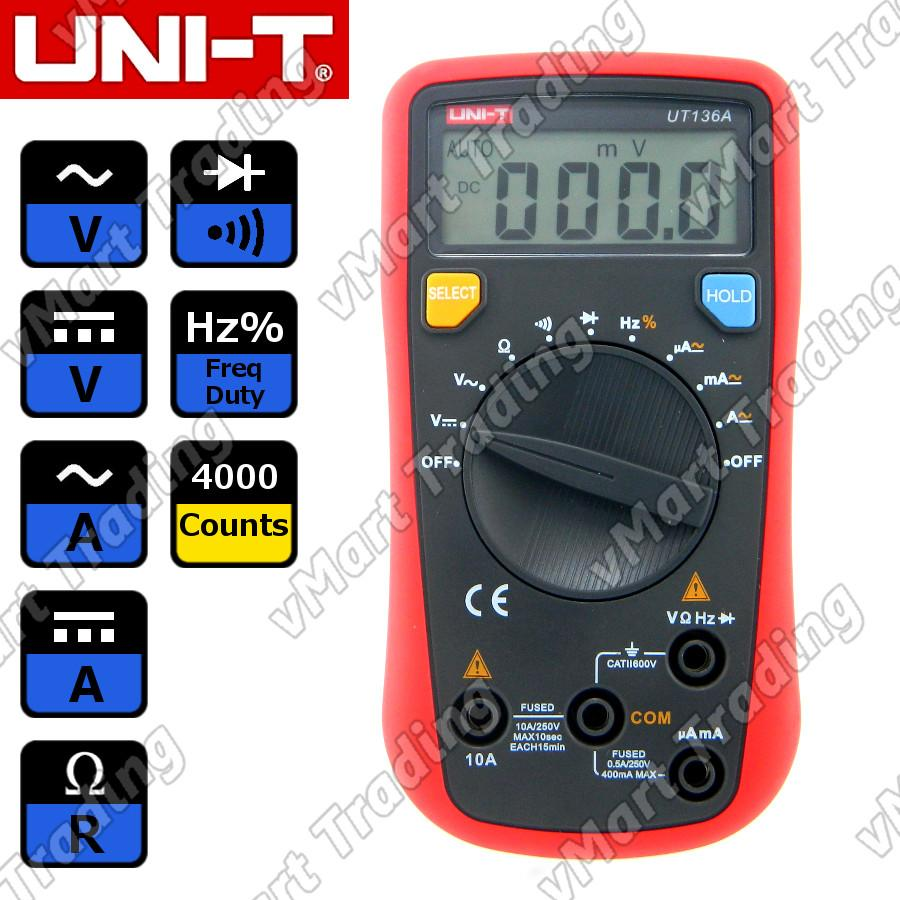 UNI-T UT136A Digital Multimeter