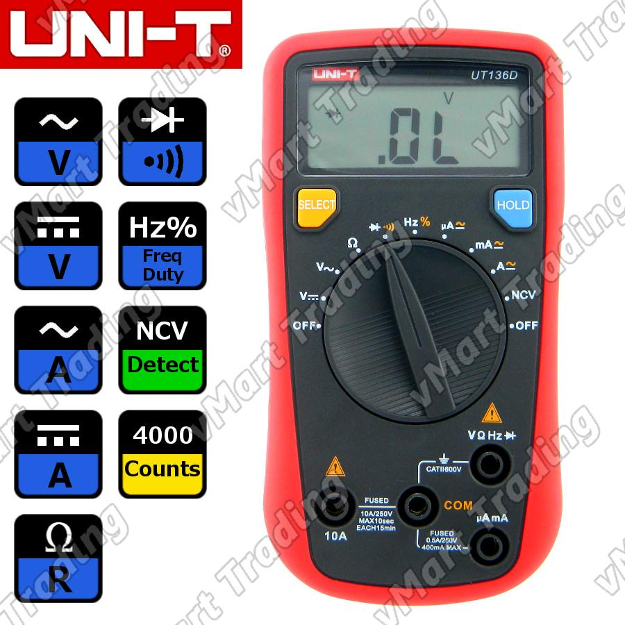 UNI-T UT136D Digital Multimeter