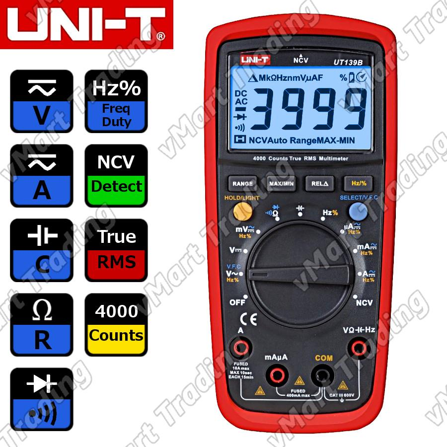 UNI-T UT139B Digital Multimeter