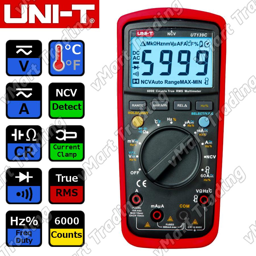UNI-T UT139C Digital Multimeter