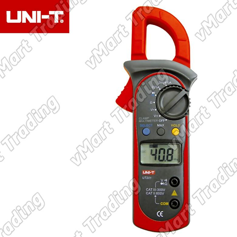 UNI-T UT201 AC Current Clamp Multimeter