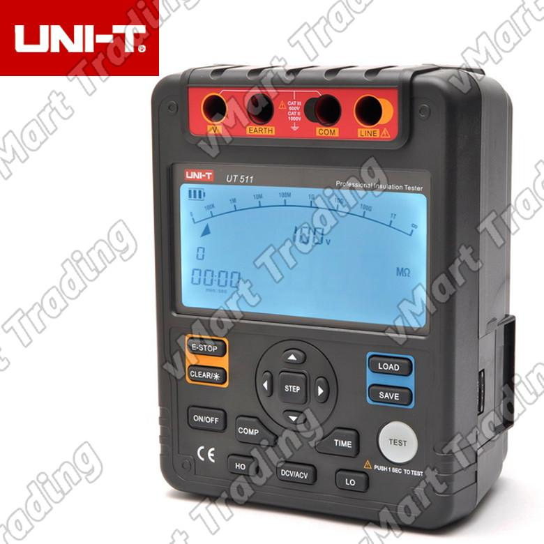 UNI-T UT511 Multi-function Digital Insulation Resistance Tester