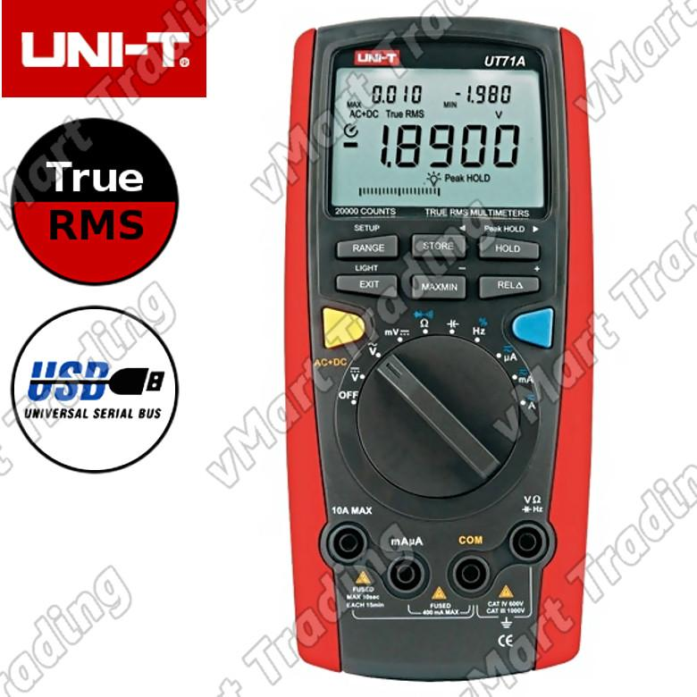 UNI-T UT71A Professional Digital Multimeter with PC output