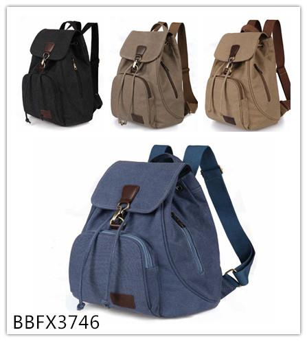 UNISEX CANVAS BACKPACK-BBFX3746