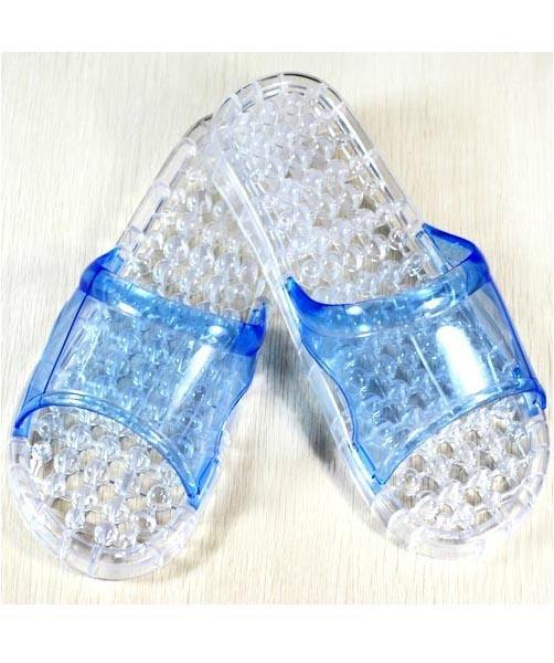 Unisex Hollow Massage Crystal Slippers