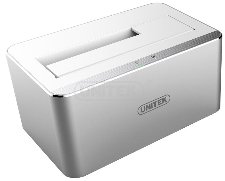 UNITEK USB3.0 SATA6G ALUMINIUM SINGLE BAY DOCK STATION (Y-1091)
