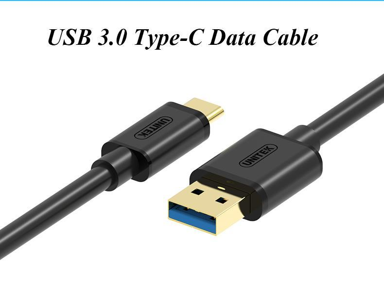 Unitek USB3.0 Type C Data Cable, Y-C474BK