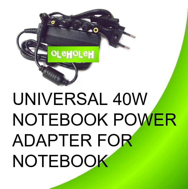 Universal 40W Notebook Power Adapter For Netbook