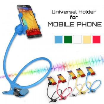 Universal Holder for Mobile Phone with Double Clip