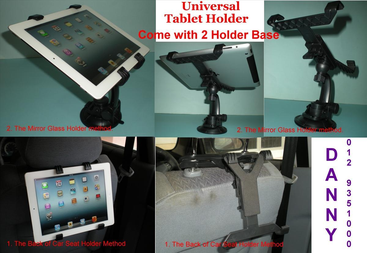 Universal Holder for Phone Tablet ( iPad Tab, Note) Come with 2 Holder