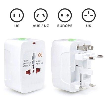 Universal International Worldwide Travel Adapter Multi Adaptor