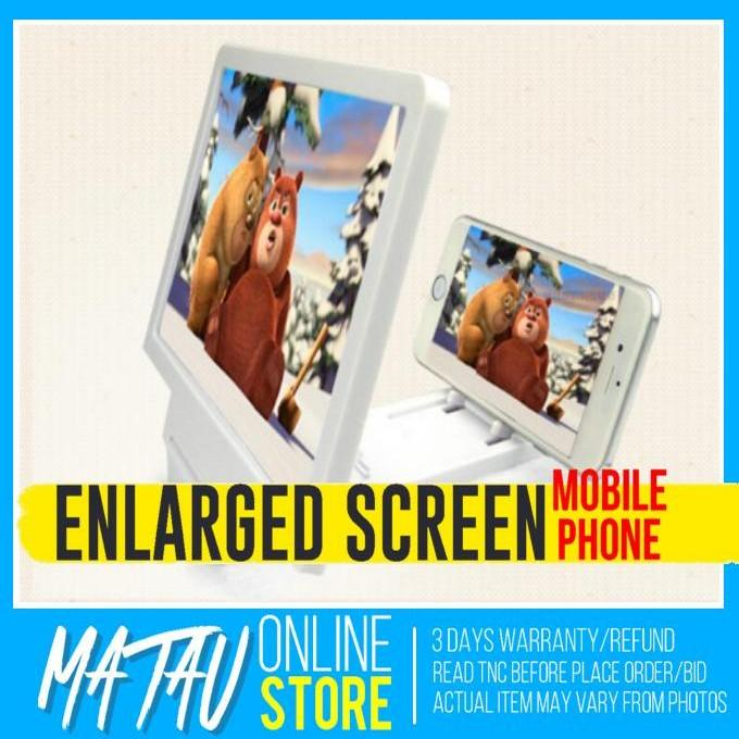 Universal Mobile Phone 3D Enlarged Screen